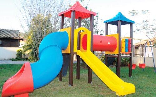 Playground Ecológico Infantil - Modelo Eco207